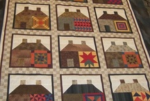 Quilted houses