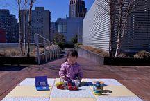 Cotton Baby Play mat / Organic cotton play mat, Cork play mat, Eco-friendly play mat, Fabric play mat, Nontoxic play mat
