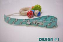 Handmade fabric toy