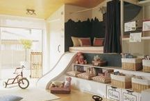 Kids Playrooms / Inspiration to give little ones a space to be creative.
