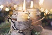 Hiver féérique / Paysages et tablées hivernaux