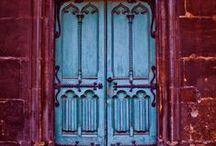 A la porte ! / portes anciennes, de caractère