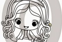 """Jemma - Stamp Creations / Here are projects featuring our """"Jemma"""" rubber stamp line"""