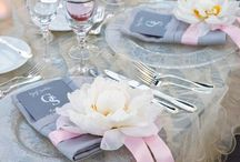 •TABLE SETTINGS• / Ideas for beautifull arrange of table, for wedding, event etc.