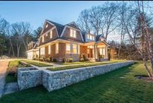 78 Chestnut Street Luxury New Construction in Weston MA / Luxury New Construction in Weston's Southside - 78 Chestnut Street.  Shingle Style Manor built by Santangelo Construction.  Ready for occupancy Spring 2016.  Exclusively listed by Diana and Avery Chaplin.