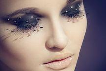Hair, eyes and nails