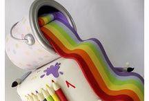 Inspiring Ideas / Cake decoration ideas and inspiration for next cake projects.  http://alecream.wordpress.com