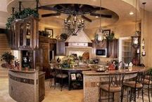 "The Perfect kitchen / ""Life is a kitchen.  Put on your prettiest apron & whip up something fabulous."" / by Ananda Vorster"