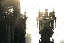 Fantasy/Sci fi Environment Architecture
