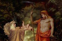 Mythology / Gods, heros, creatures from mythologies all over the world