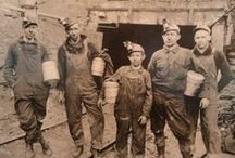Kentucky coal miners / Coal helped build this nation. And coal miners made it happen.