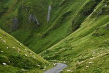Scotland / The land of my late husband's ancestors.