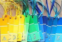 Paint Chip Crafts / by Ashley Michelle