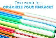 FInances / Saving money and living easier. / by Ashley Michelle