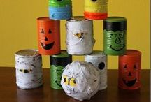 Halloween Party Ideas / Recipes and fun games for a Halloween party or event.  / by Ashley Michelle