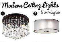 Statement Lighting / Our favorite lamps and lighting to make a big impact on your home decor.