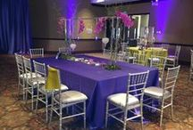 CVPA: Our Event Style / Inspiration from special events hosted at the Center for the Visual and Peforming Arts