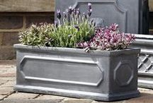 Traditional Garden Style - Stunning Clayfibre, Fibreclay and Fibrestone Faux Lead Planters and Pots / Clayfibre is our NEW Fibreclay alternative! This classic faux lead planter is eco-friendly, versatile and stylish. Fibrestone has all the benefits associated with Fibreglass but due to the high stone content giving a more natural finish. While Fibreclay is a discontinued line, this faux-lead planter has been incredibly popular so contact us to find out stock levels!  To see more visit www.thepotco.com