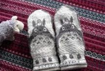 Woolen Stockigs&Mittens&Slippers