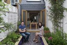 Small Gardens - Big Ideas! / A small garden doesn't have to be a boring one!
