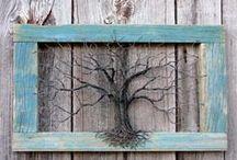 drótszobrok, wire art / wire garden art, drótszobrok, drótfigurák