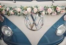 Hochzeit - Autoschmuck / Autoschmuck