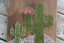 kaktusz madzag képek, cacti string art / madzag képek, string art, cactus
