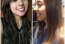 Tratamientos / Con nuestros tratamientos tu cabello recobrará vida y suavidad!