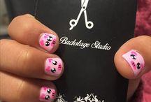 Uñas chiquitas / Las mejores ideas para consentir a tu pequeña con diseños para sus uñas!