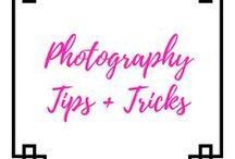 Photography Tips & Tricks / photography, camera, tripod, scene, mood, flatlay, lens, tips  laurajacquesaimh.com