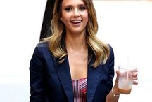 Jessica Alba / How could you look like Jessica Alba? Fashion, make up, hair..
