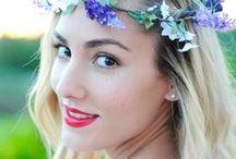 Flower Crown / http://www.blogpersonalstyle.com/