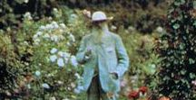 Monet's garden / Monet, garden, painting, art of live