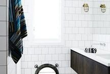 Breathtaking Bathrooms / Collection of beautiful bathrooms (and our favourite bathroom lights) to get you inspired for your build or renovation