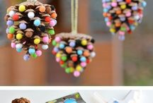 Christmas crafts / My favourite ideas for festive craft projects.