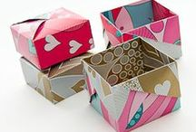 gifts / origami / gift wrapping, boxes, labels, gift tags, tags, origami