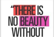 Beauty Quotes / Citate despre make-up.