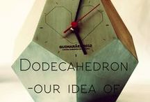 DODECAHEDRON - OUR IDEA OF SINGULARITY / Metalworking has always been our passion , but the dodecahedron , this unique piece , cast - in constant challenges : the design, planning , execution, and completion in all its surroundings making us gravitate around this universe .
