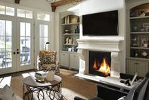 Contemporary Fireplace Design Collection
