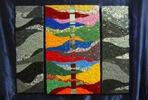 Christina Ayer mosaics! / Want to see what the Xinamarie Owner worked on? Here's a few of her works of art!