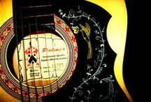 Guitar Art / Time to break out the Sharpies, bishes'. / by Chikara