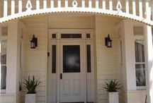Project   Bangalow Hamblin / Traditional Style Exterior Lighting, to match wall light to pendant