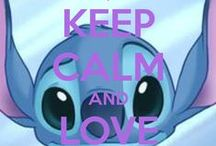 Stitch is love, Stitch is life :) / Cutest thing on every galaxy is definitely this blue ball of fuzz