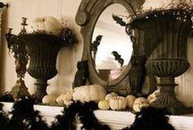 Outstanding Halloween Mantle Decor