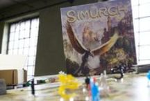 Simurgh / Take a look at amazing board game Simurgh by NSKN Games for which E-Raptor has designed and produced laser cut markers.