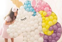 Girl Birthday Party / Colorful and creative kids' parties, dessert bars, tablescapes and more.