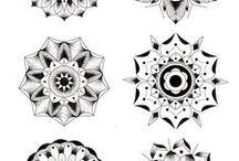 Mandalas y patrones