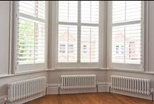 Shutters & Blinds / Functional, stylish and easy to install and maintain, we showcase examples of shutters and blinds at our recent projects. Pin for inspiration & contact us for more information on sales@batterseabuilders.co.uk