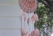 Sea Shells / Beautiful projects with sea shells