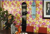 Boarddocks on the wall / Boarddock.com - Snowboard Wall Mount / by Boarddock